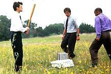 Office Space Scene where they destroy an unreliable printer