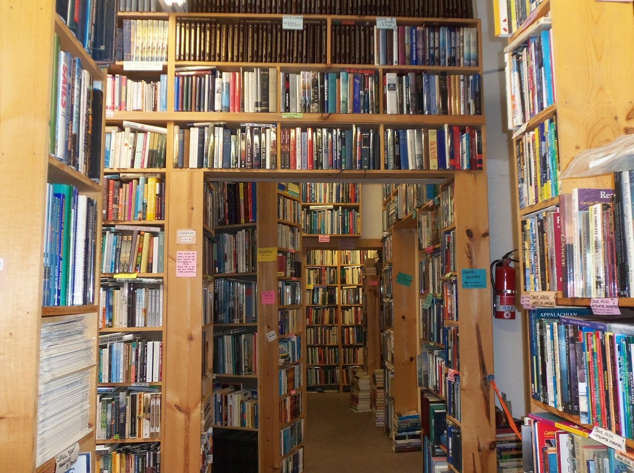 submitted by rushello. This amazing used bookstore.