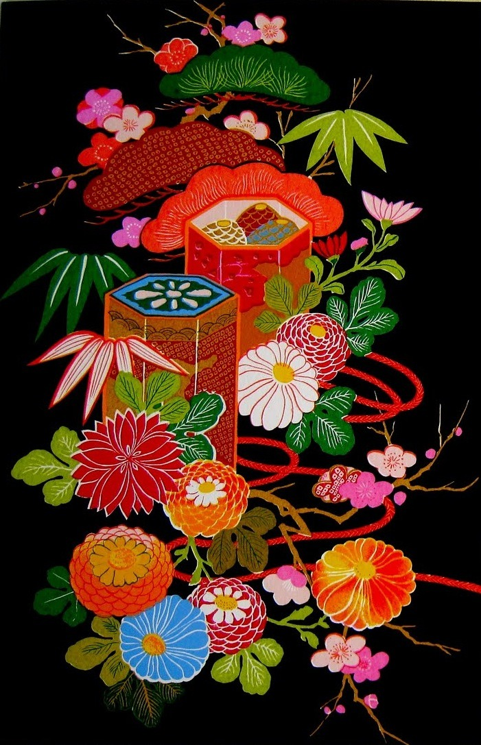a great japanese floral motif