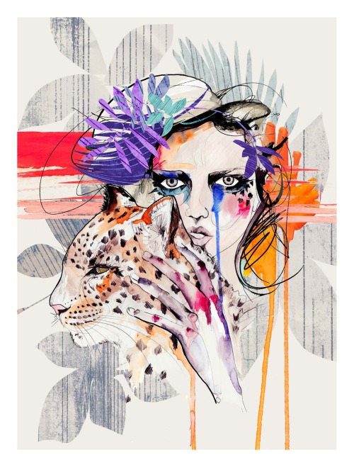 *****NEW**** illustration'Fashion Kills'available on Etsy and Society6 :) Holly Sharpe❤❤❤