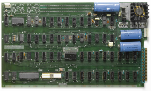 Steve Jobs memo and Apple I motherboard sold for $400,000 at auction Two pieces of early Apple memorabilia have sold for twice their estimated price. Sotheby's auctioned off one of the last remaining Apple I motherboards, which were sold in 1973 for $666.66, for $374,500; it was originally estimated to net up to $180,000. The motherboard came with an original Apple I manual, a programming guide, and a cassette interface sold as a $75 accessory.