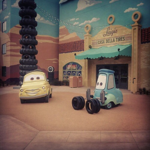 Our Cars Land #disney #cars (Taken with Instagram)