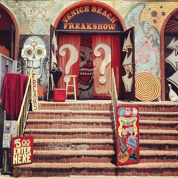 Taken with Instagram at Freak Show Circus
