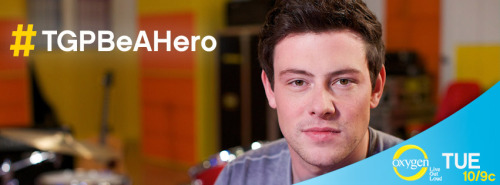 Finn Hudson is Glee's biggest hero. Watch Cory Monteith mentor The Glee Project contenders on Vulnerability this Tuesday at 10/9c on Oxygen, and share him on your Facebook timeline: http://ow.ly/bBUZn Tell us how you've stood up against bullying and what makes YOU a hero. Share your story here or tweet us with the hashtag #TGPBeAHero