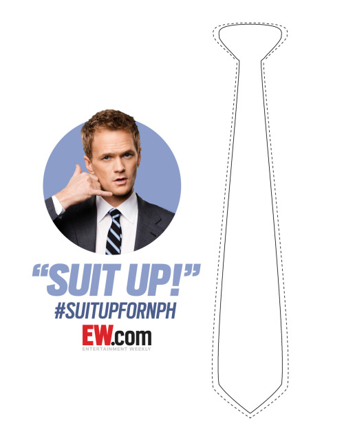EW invites you to try on Neil Patrick Harris' birthday suit!