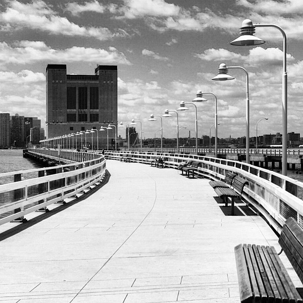 📷 (Taken with Instagram at Hudson River Greenway)