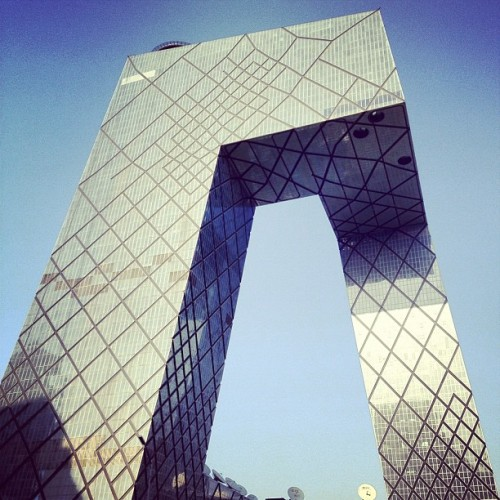 #CCTV by #OMA #architecture #beijing #china #archdaily #instagood #iphonesia  (Taken with Instagram)