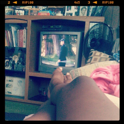 chillen at grandmas (Taken with Instagram)