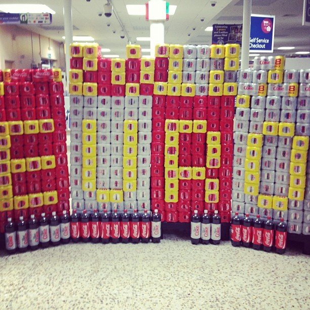 Well played tesco (Taken with Instagram at Tesco)