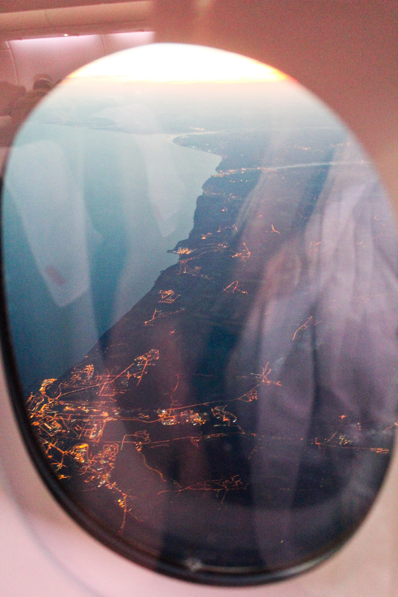 lindseymariepatkos:  Original | Passing over England. Air France.