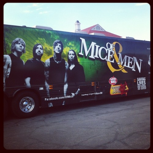 @omandm have arrived to the @vanswarpedtour @vans in Salt Lake City! @austincarlile (Taken with Instagram at Utah State Fairgrounds: Grandstand)