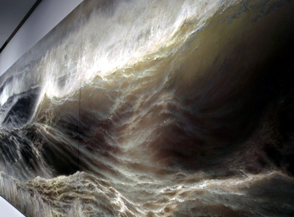 alecshao:  Ran Ortner - Swell, 2006 - oil on canvas