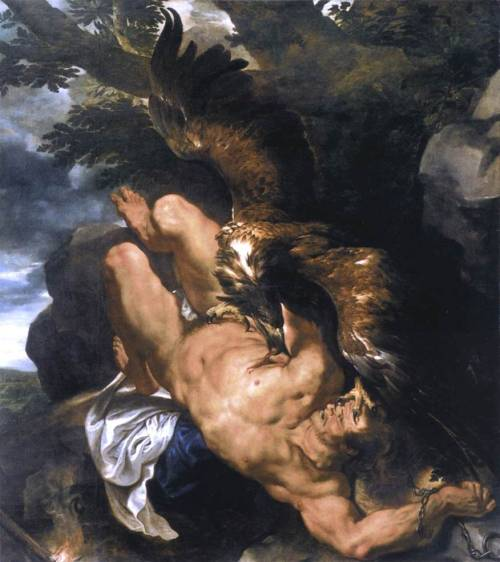 Prometheus Bound, Pieter Paul Rubens and Frans Snyders 1611-12.