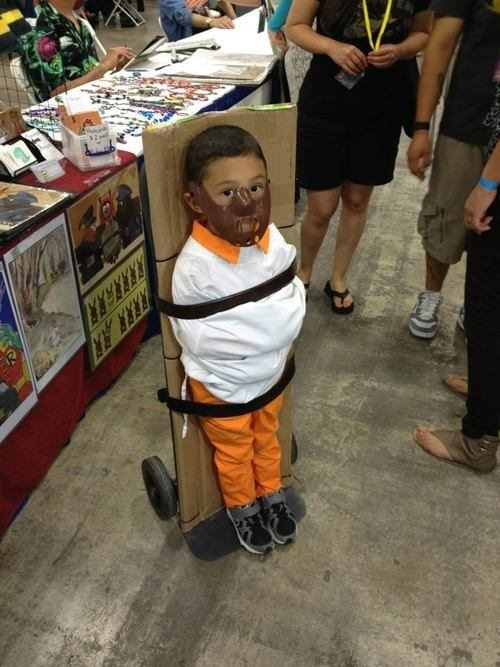 Hannibal Letcher * Cosplay * Adorable  World's cutest child abuse.