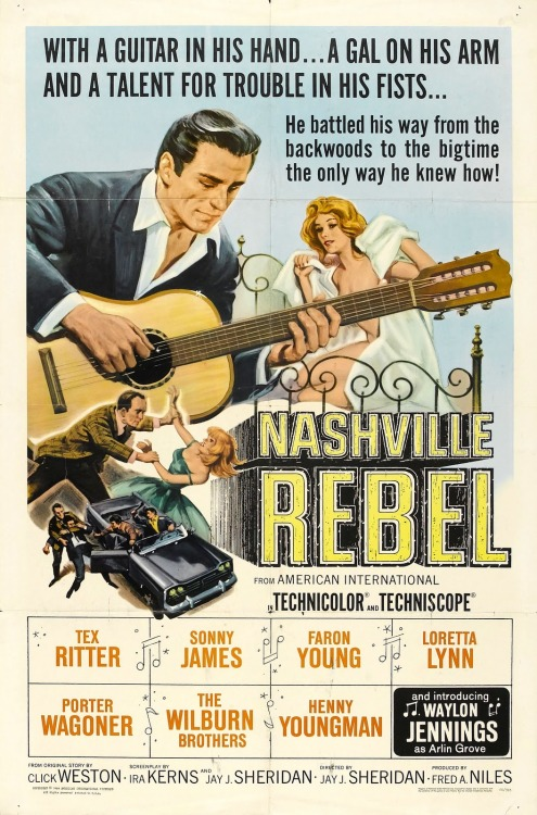Nashville Rebel (1966) starring Waylon Jennings