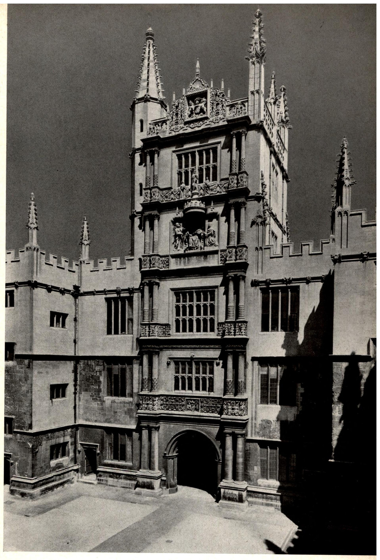 The Tower of the Five Orders at the Bodleian Library, Oxford