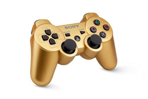 Gamestop Will Have Golden PS3 Controllers In USA Coming this October to the US, Gamestop will be carrying golden PS3 controllers straight from Sony, likely a response to Microsoft's new Chrome line of controllers. You can preorder the controller (and check out its specs) here.
