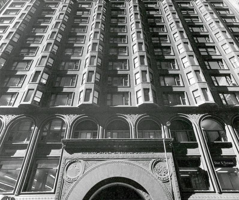 Louis Sullivan's Stock Exchange Building, Chicago