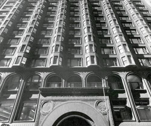 archimaps:  Louis Sullivan's Stock Exchange Building, Chicago