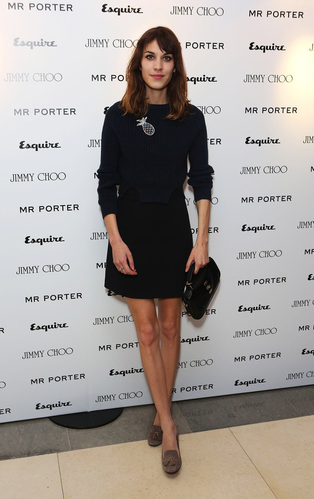 alexastyle:  Alexa Chung arrives for the Esquire, Mr Porter, Jimmy Choo party as part of The Men London Collections at Corinthia Hotel London on June 15, 2012 in London, England.