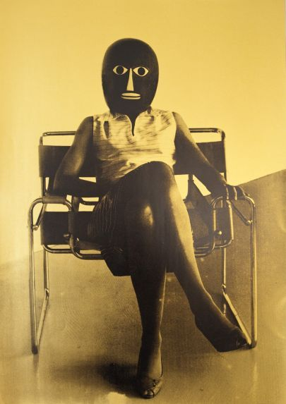 UNKNOWN STUDENT IN MARCEL BREUER CHAIR, 2006 URSULA MAYER
