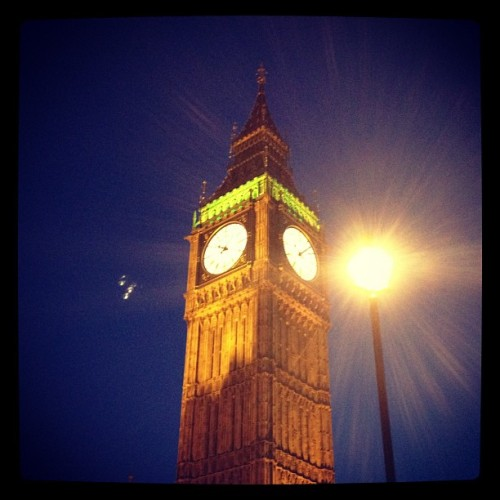 Big Ben #london #bigben #england #nightshot (Taken with Instagram at Big Ben)