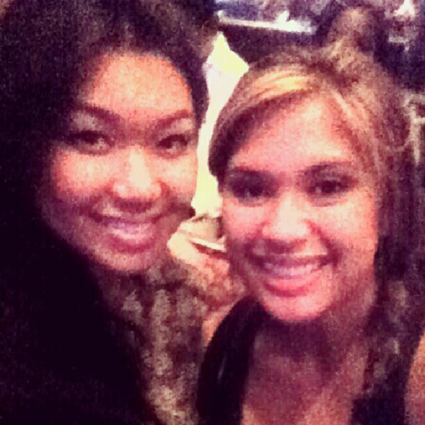 Me my ate @gretchie0 at San Manuel last night for #BrianMcKnight #MusiqSoulchild and #Case  (Taken with Instagram)