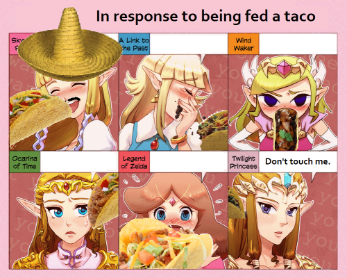 plebeianwizard:  Female princesses love Mexican food.