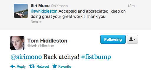 moves-like-hiddles:  alwaysanoriginal:  Tom Hiddleston, ladies and gentlemen, being the naturally wonderful person he is. This man.  *GROSS SOBBING*