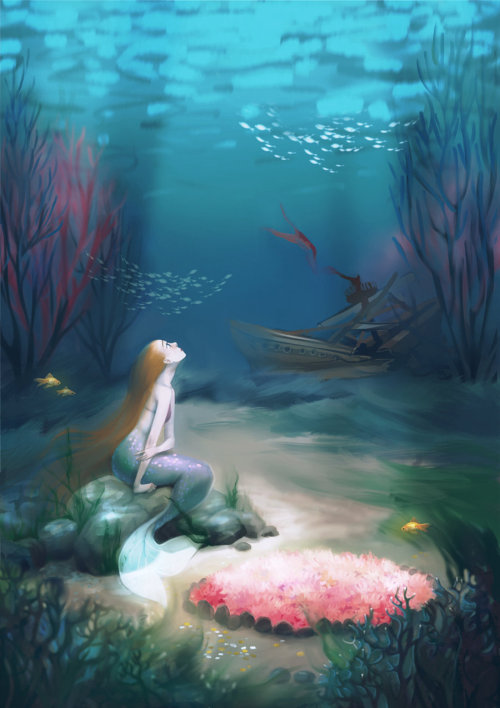 The Little Mermaid by MeryChess.