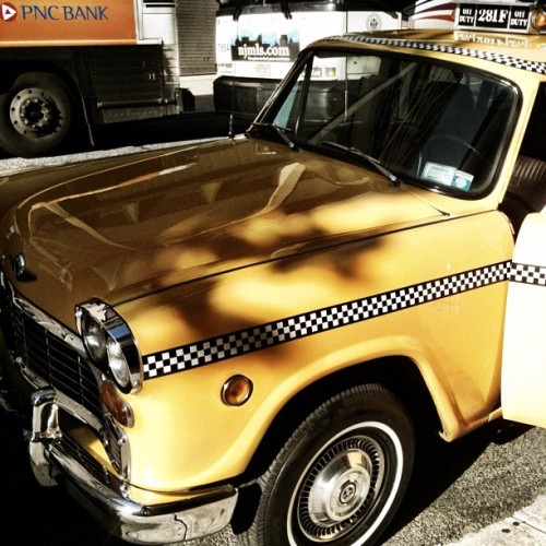Vintage cab (Taken with Instagram)