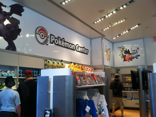 Went to Rockefeller center today and found a magical store called Nintendo World.