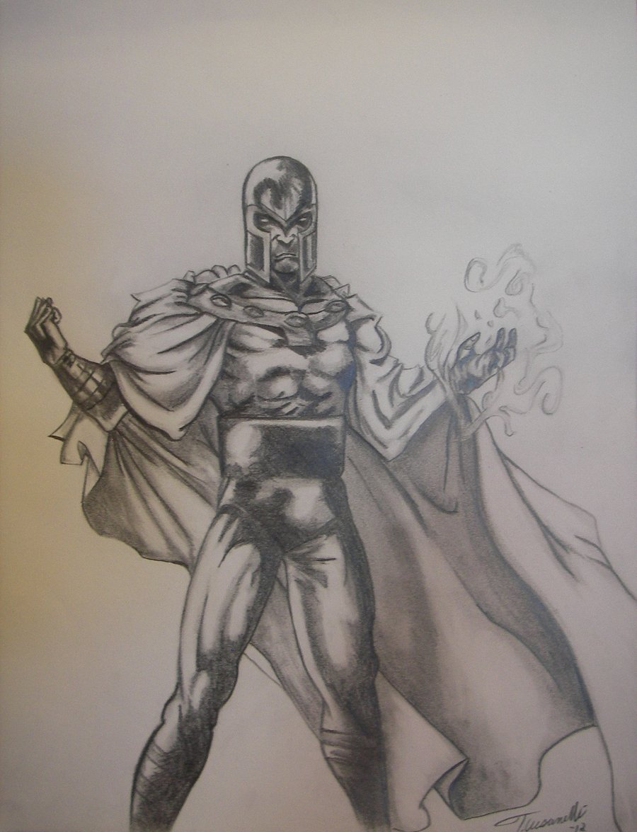 Magneto Drawing by ~cusT0M