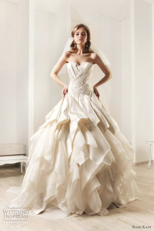 awesomeweddingdresses:  http://www.weddinginspirasi.com/2012/06/13/rami-kadi-wedding-dresses-2012-bridal-collection/2/