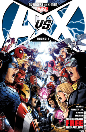 Check this out from MTV Geek -  Avengers VS X-Men: War Journals