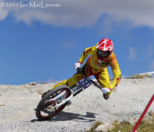 Danny Hart at Fort William 2011. Shredder. Photo by Ian MacLennan.