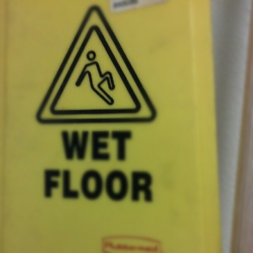 He is not slipping he is just JERKIN lol (Taken with Instagram)