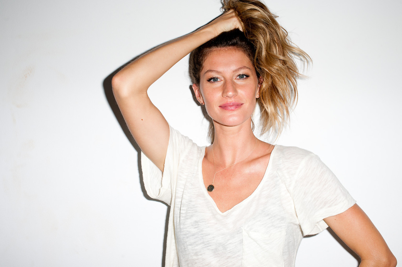 terrysdiary:  Gisele Bundchen at my studio #2