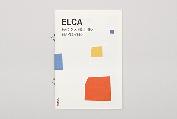Concept and redesign of the ELCA annual report 2011. A series of 8 double-sided visualizations about the employees accompanies the reports' content. more (via Von B und C)