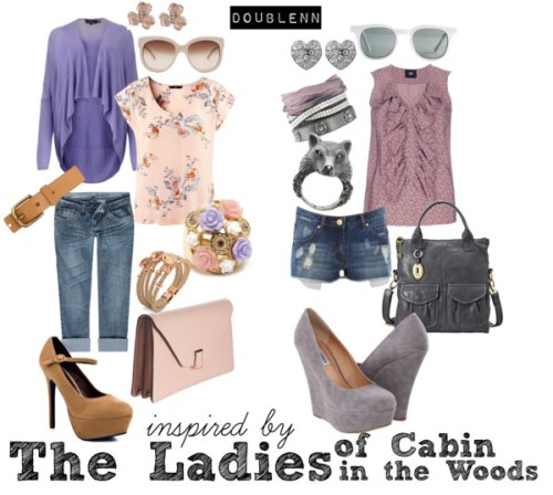 The Ladies from Cabin in the Woods by doublenn featuring stiletto high heels