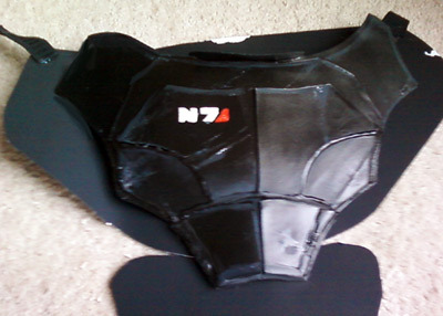 oh ps i guess  I never mentioned on here I'm making some N7 armor WITH AUTHENTIC BATTLE DAMAGE for the dog, only got the chestplate done for now and its not fitted but w/e  There's a costume contest at a local star-trek themed town fair, right? I decided I'd enter in the most ironic way I know how because I feel that my dog wants to know what it's like to be a hipster. shit, or a jedi costume would've been easier. damn.