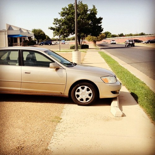 """Mama always told me to park as close to the curb as possible. Just following the rules."" (Taken with Instagram)"