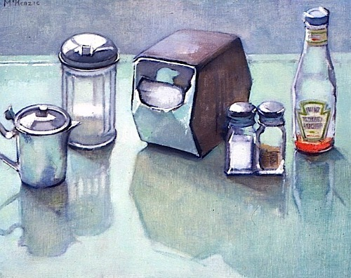 Mary Beth McKenzie Still Life (Restaurant Supplies) 1990-99