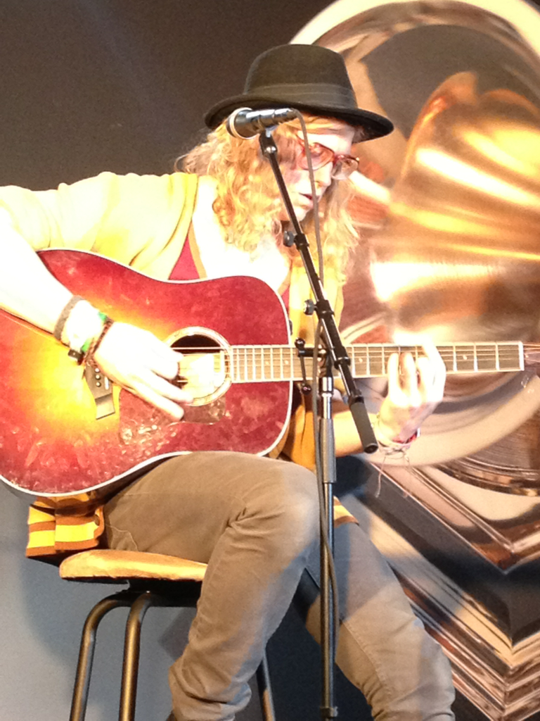Shout to Allen Stone for stopping by GRAMMY HQ today with an amazing performance!