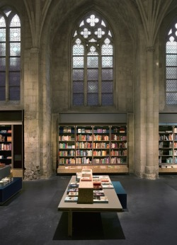 theabsolution:  13th Century Church Converted to Modern Day Library in Holland