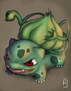 ahh—real-pokemon:  Bulbasaur