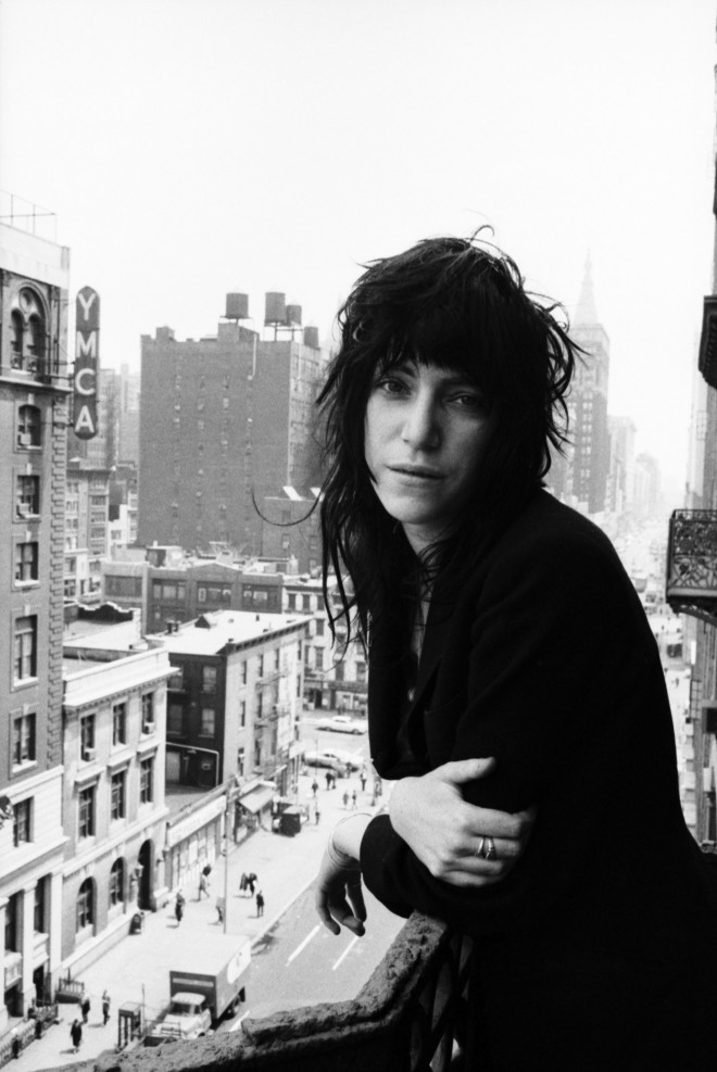 secretcinema1:  Patti Smith, Chelsea Hotel, 1971, Richard Gahr