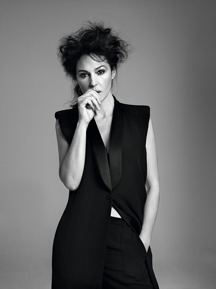 Monica Bellucci - Zoo #35 by Bryan Adams, Summer 2012