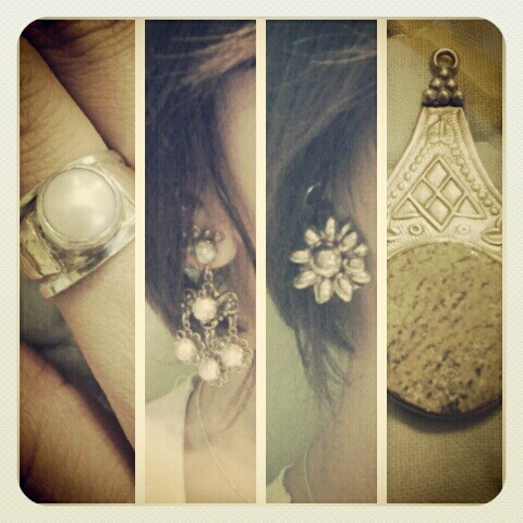 In love with my old new vintage jewelry!