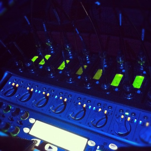 night beasts. #productionsound (Taken with Instagram at Kirk Douglas Theatre)